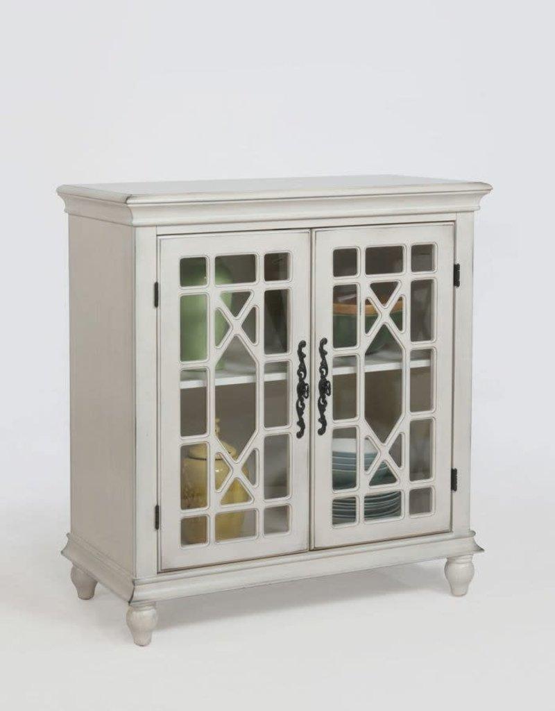 Crownmark Francesca Cabinet - Ivory