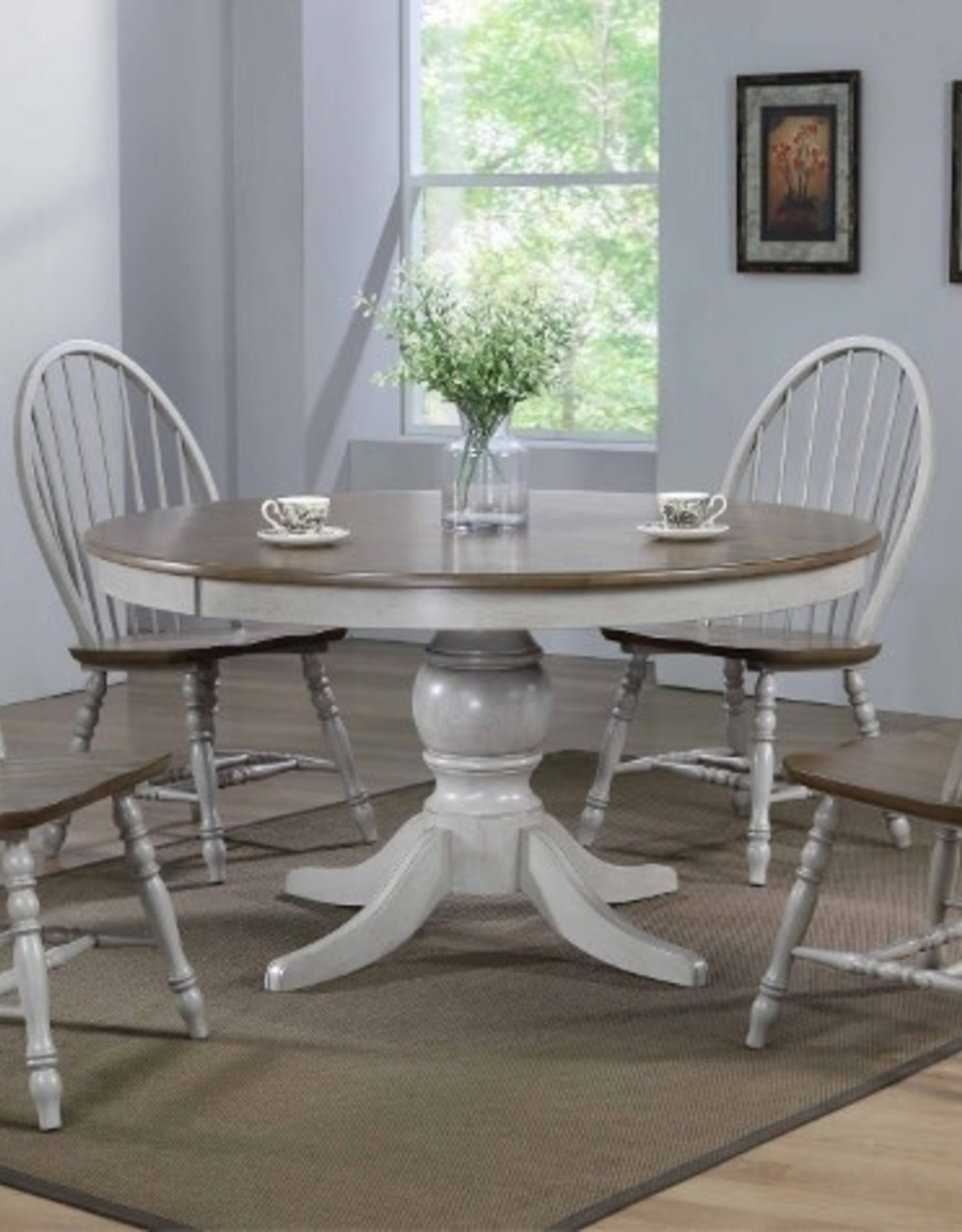 Jack 54 Round Dining Table W 4 Chairs Bargain Box And Bunks