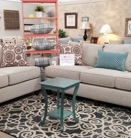 United Macintosh Buff Sofa and Loveseat Set