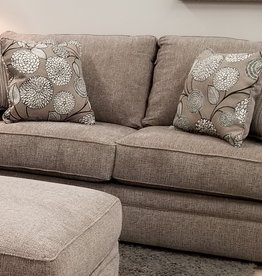 United Macey Pewter Loveseat