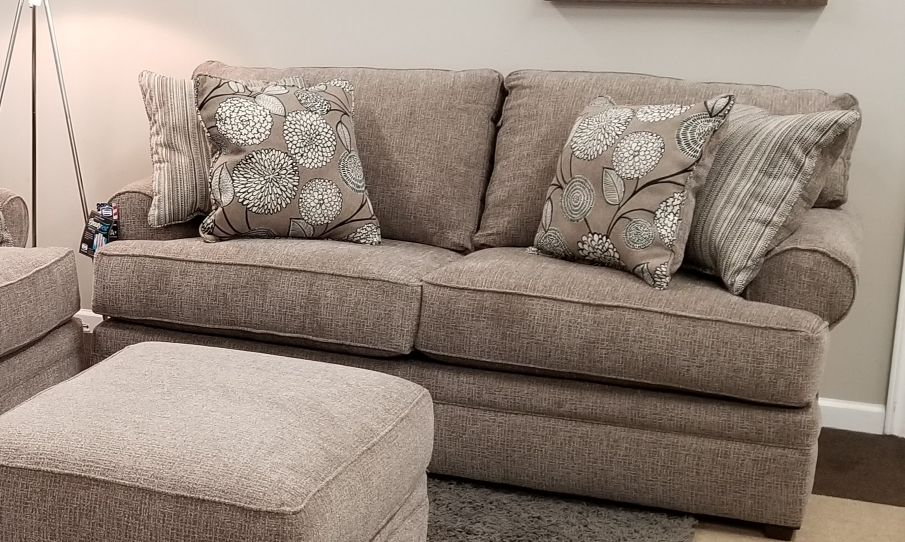 Macey Pewter Loveseat Bargain Box And Bunks