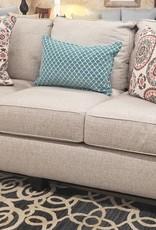 United Macintosh Buff Sofa
