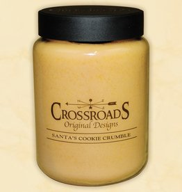 Crossroads Santa's Cookies Candle 26oz