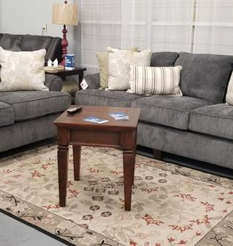 Lane Moreland Steel Sofa and Loveseat Set