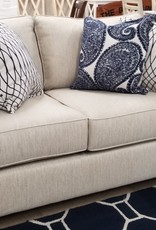 United Maggie Linen Loveseat
