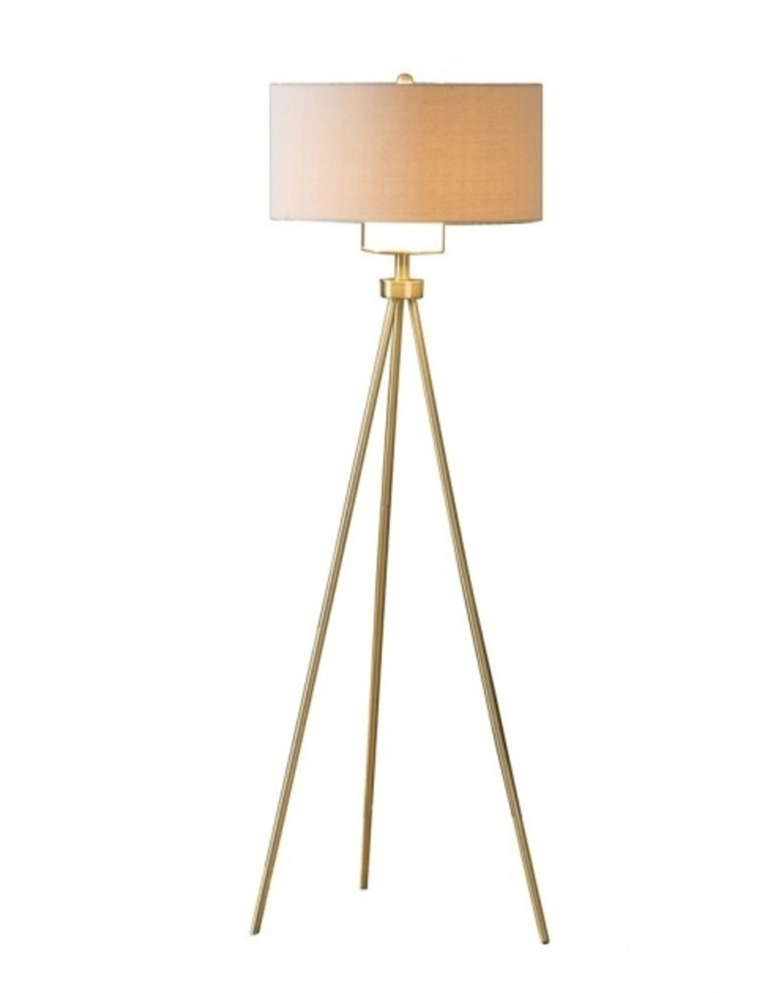 Crownmark Gold Floor Lamp