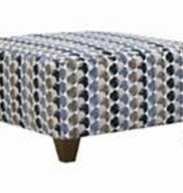 United Albany Slate Cocktail Ottoman Bubbles ink