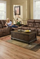 United Dorado Walnut 3pc set. Sofa, loveseat Rocker Recliner
