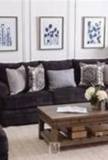 Lane Bellamy Slate Sofa and Loveseat