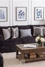 United Bellamy Slate Sofa and Loveseat