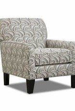 United Albany Pewter Accent Chair Basta Silver