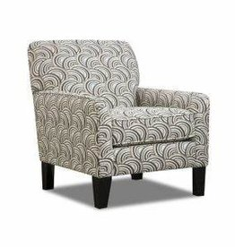 Lane Albany Pewter Accent Chair Basta Silver