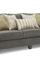 United Moreland Steel Sofa and Loveseat Set