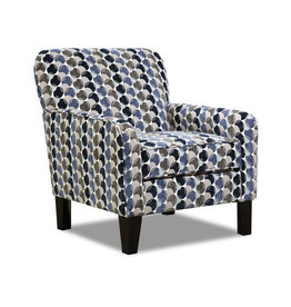 Lane Albany Slate Accent Chair Bubbles Ink