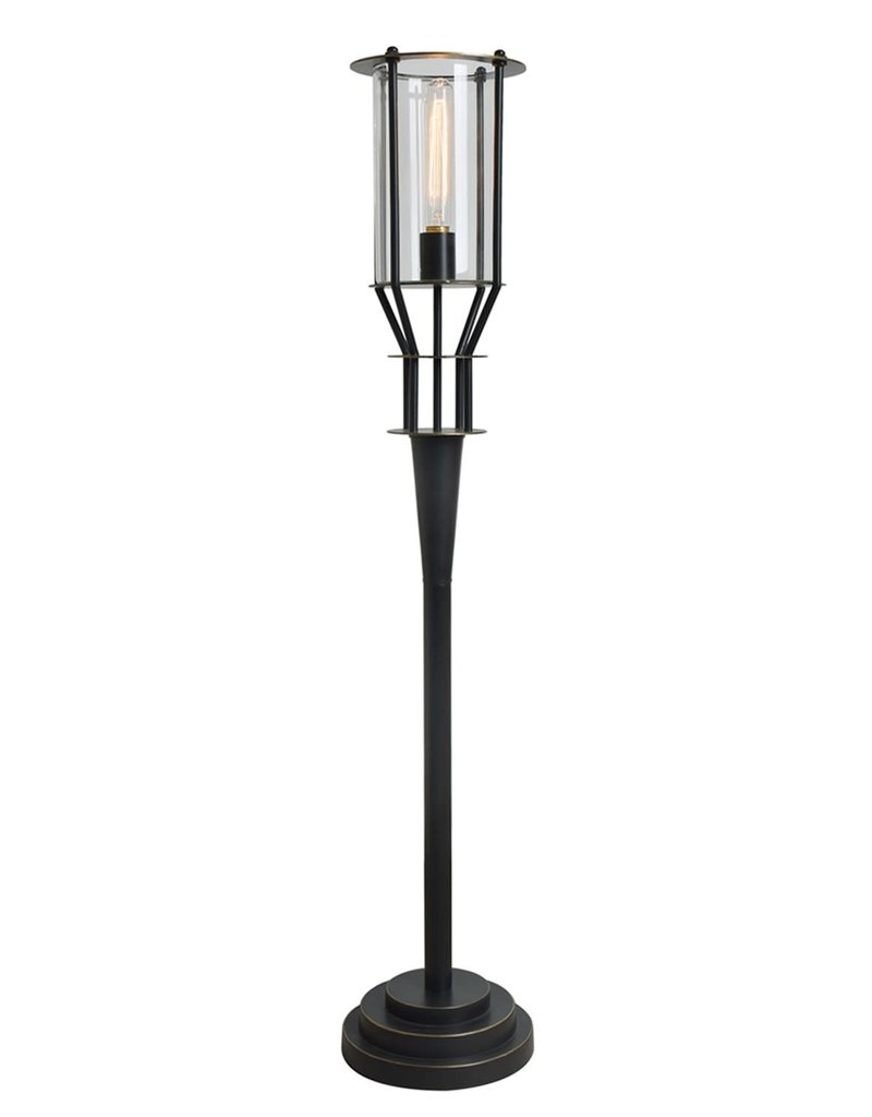Crestview Torch Table Lamp w/ Bronze Finish