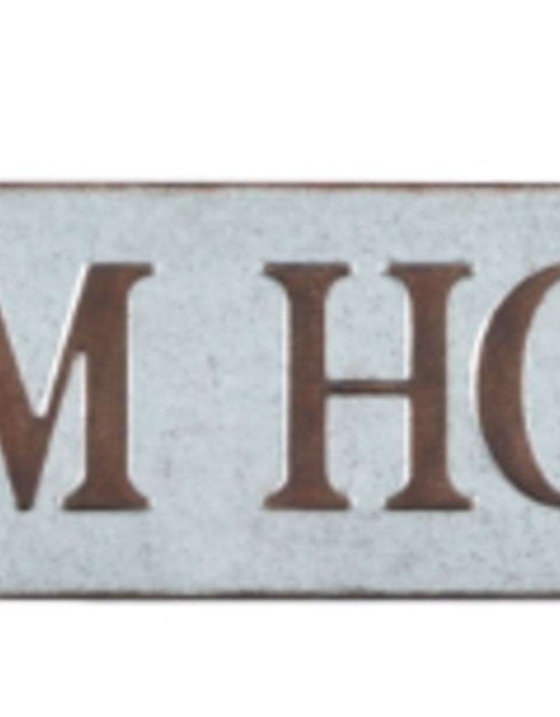 """Farmhouse Tin Metal Sign 48"""" W x 10"""" T"""