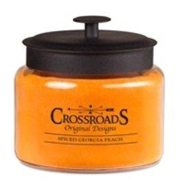 Crossroads Spiced Georgia Peach 48oz Candle