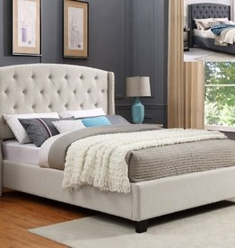 Crownmark Eva Upholstered Bed