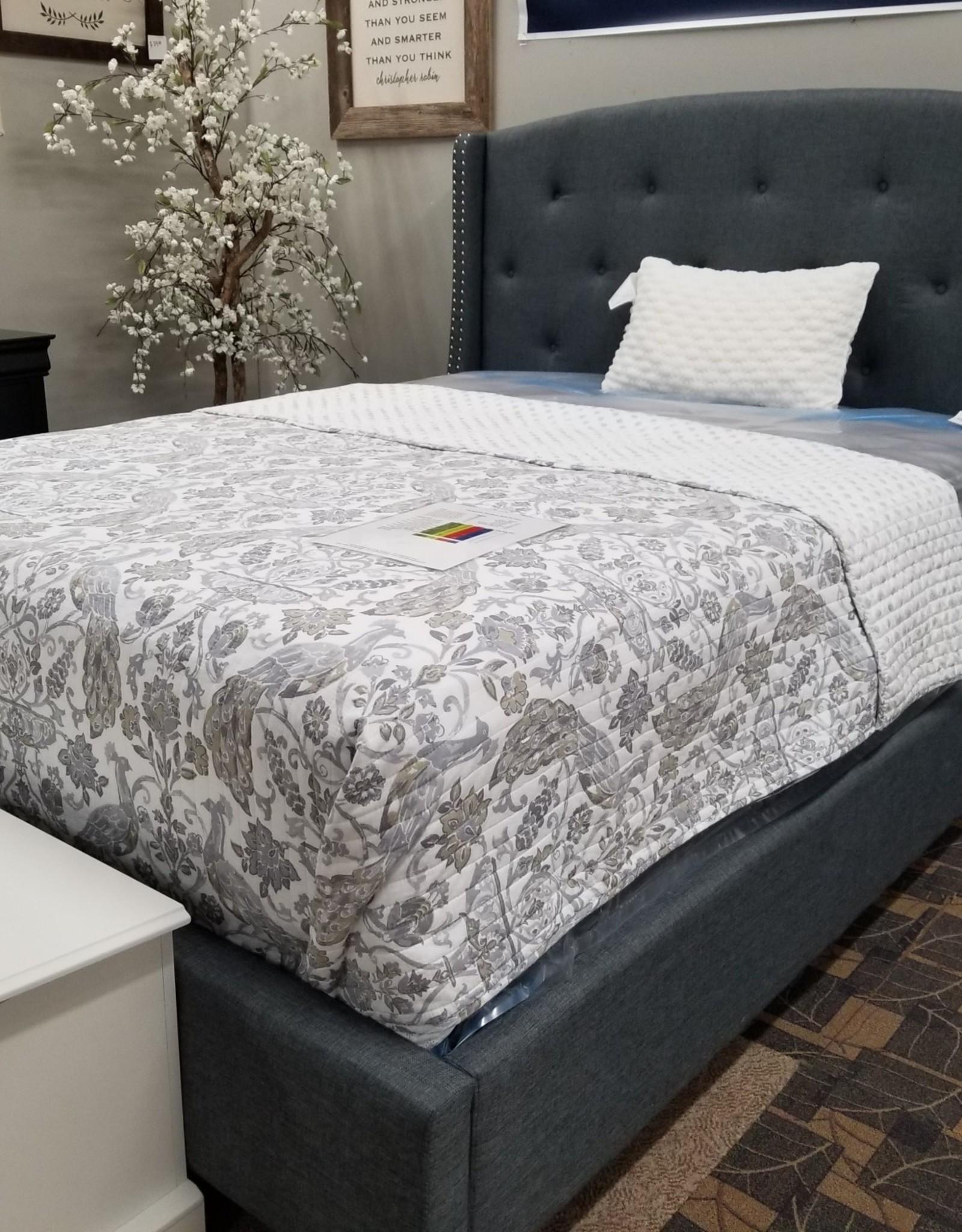 Crownmark Eva Upholstered Bed