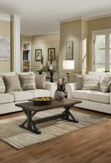 United Gavin Linen Sofa