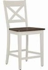 Lane A La Carte Dining Chair - Counter Height - White