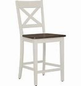 United A La Carte Dining Chair - Counter Height - White