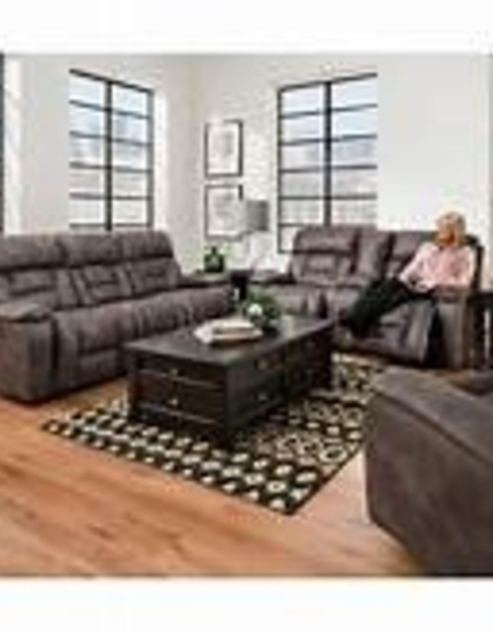 United Dorado Charcoal 3pc set. Sofa, loveseat & Rocker Recliner