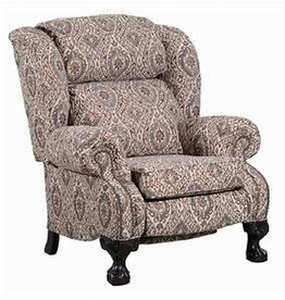 United Ashton Push-back Reclining Chair - Henna Cover
