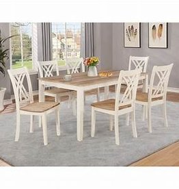 Crownmark Josie 5pc Table Set, Traditional Height