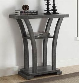 Crownmark Draper console table gray