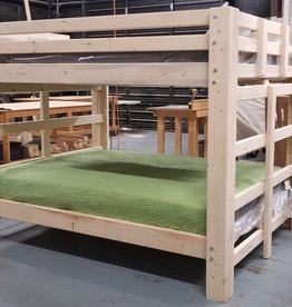 Bargain Bunks Big Mama Queen over Queen Traditional Bunk