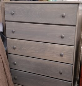 Fighting Creek Pine 5-Drawer Large Chest - w/ Stock Finish