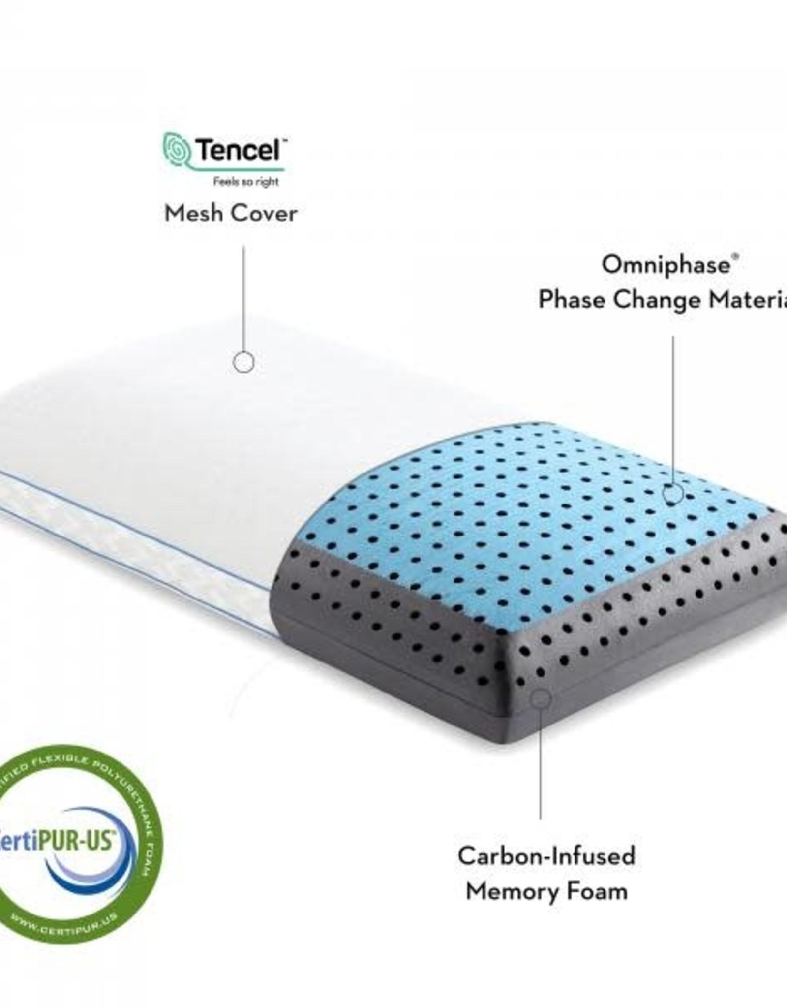 Malouf Z Carbon Cool Pillow Queen Malouf
