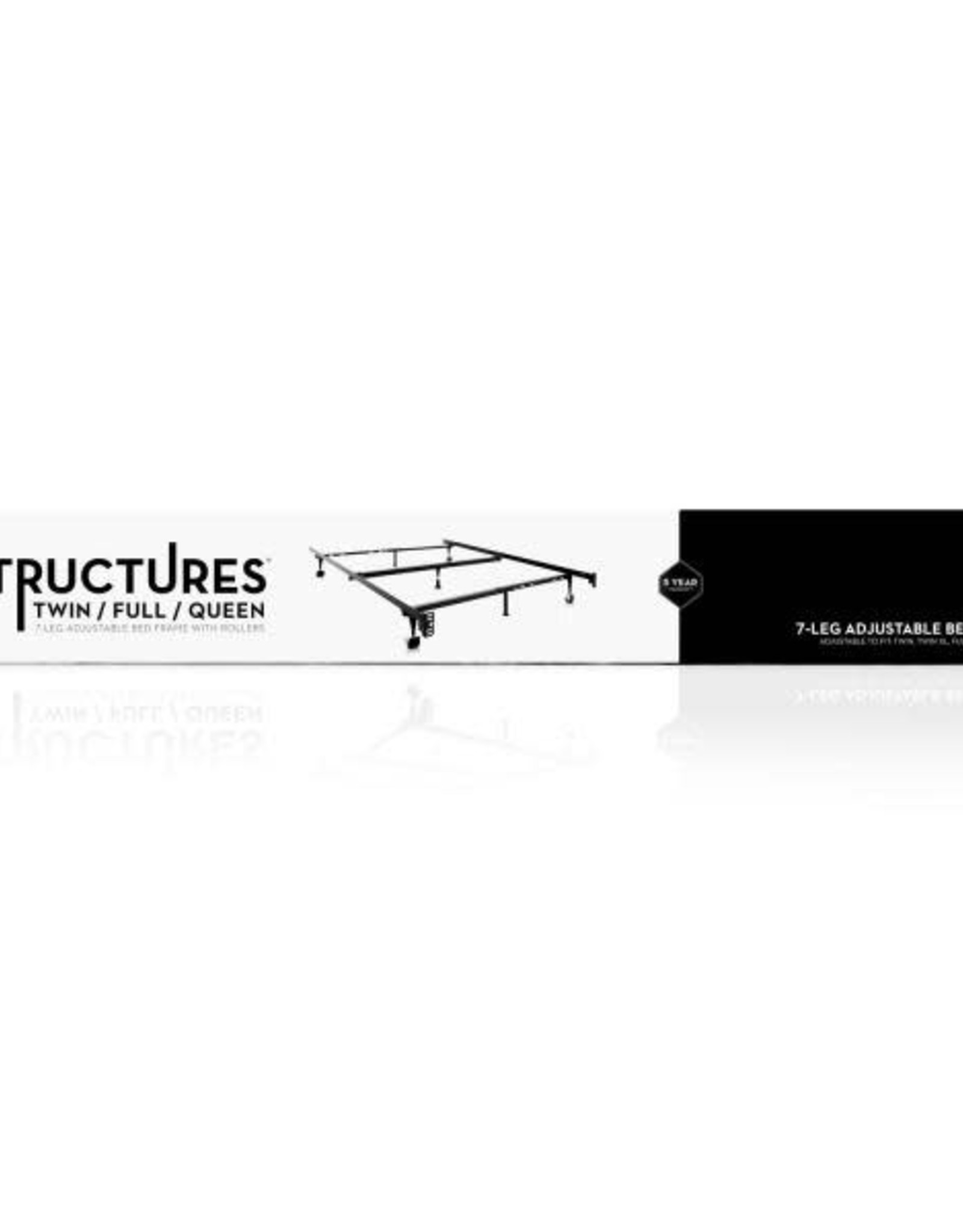 Malouf Structures Bed Frame Twin- King Size