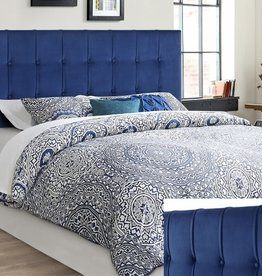 Crownmark Samara Full/Queen Headboard Navy