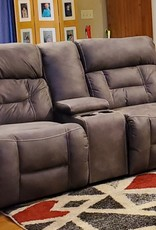 United Dorado Charcoal loveseat, no power