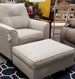 United Dante Chair and Ottoman