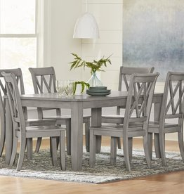 Standard Furniture Baldwin Grey Dining Table w/ 6 Chairs