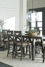 Standard Furniture Omaha Grey Dining Table w/ 6 Chairs