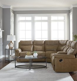 Standard Furniture Boardwalk Brown Reclining Sectional