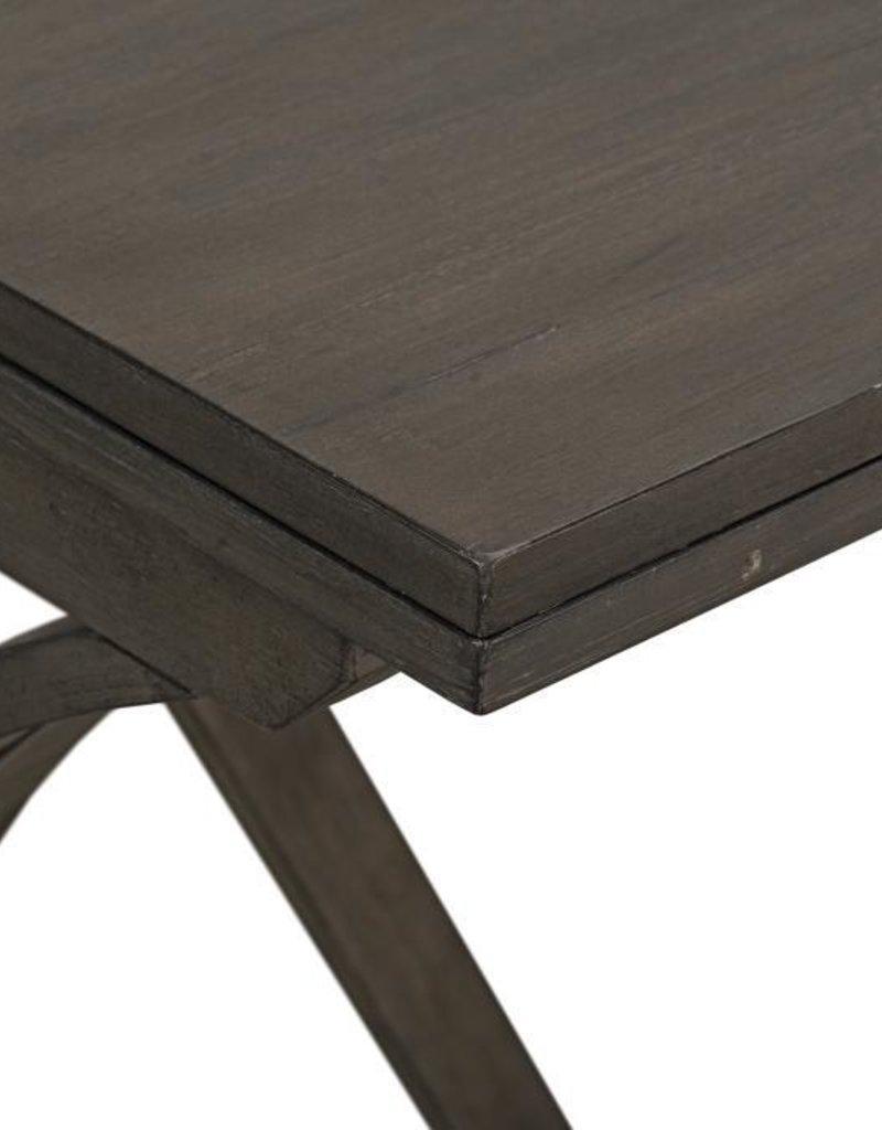 Standard Furniture Brentwood folding Bar w/ 2 Stools - Antique Grey
