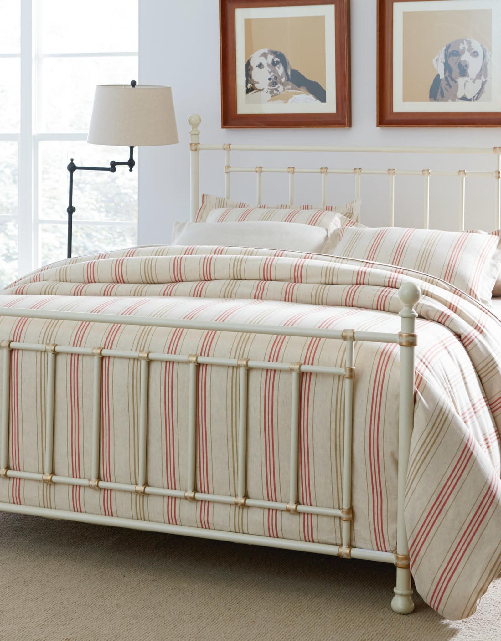 Standard Furniture Bennington White Metal Bed