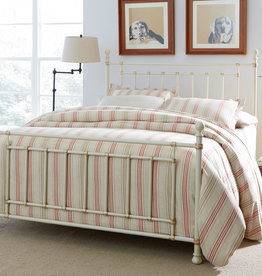 Standard Furniture Bennington White Metal Bed
