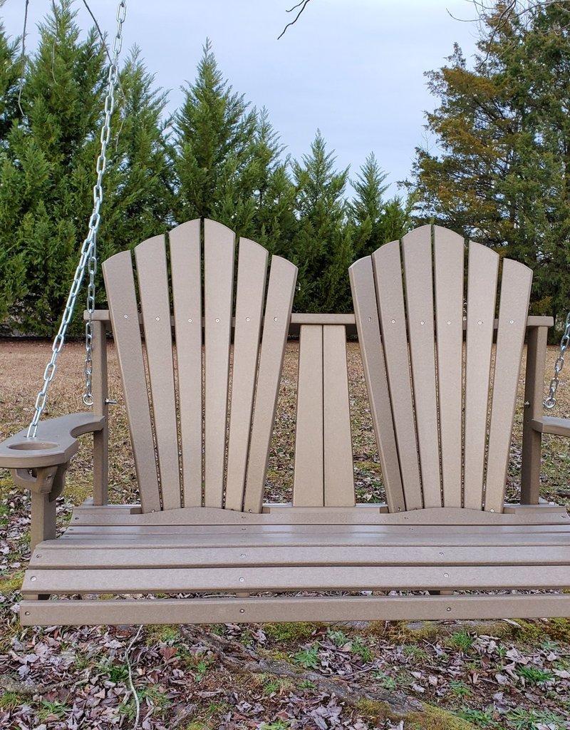 Home Decor 4' Swing - Fan Back Style