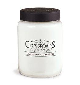 Crossroads Lemongrass & Lavender Candle