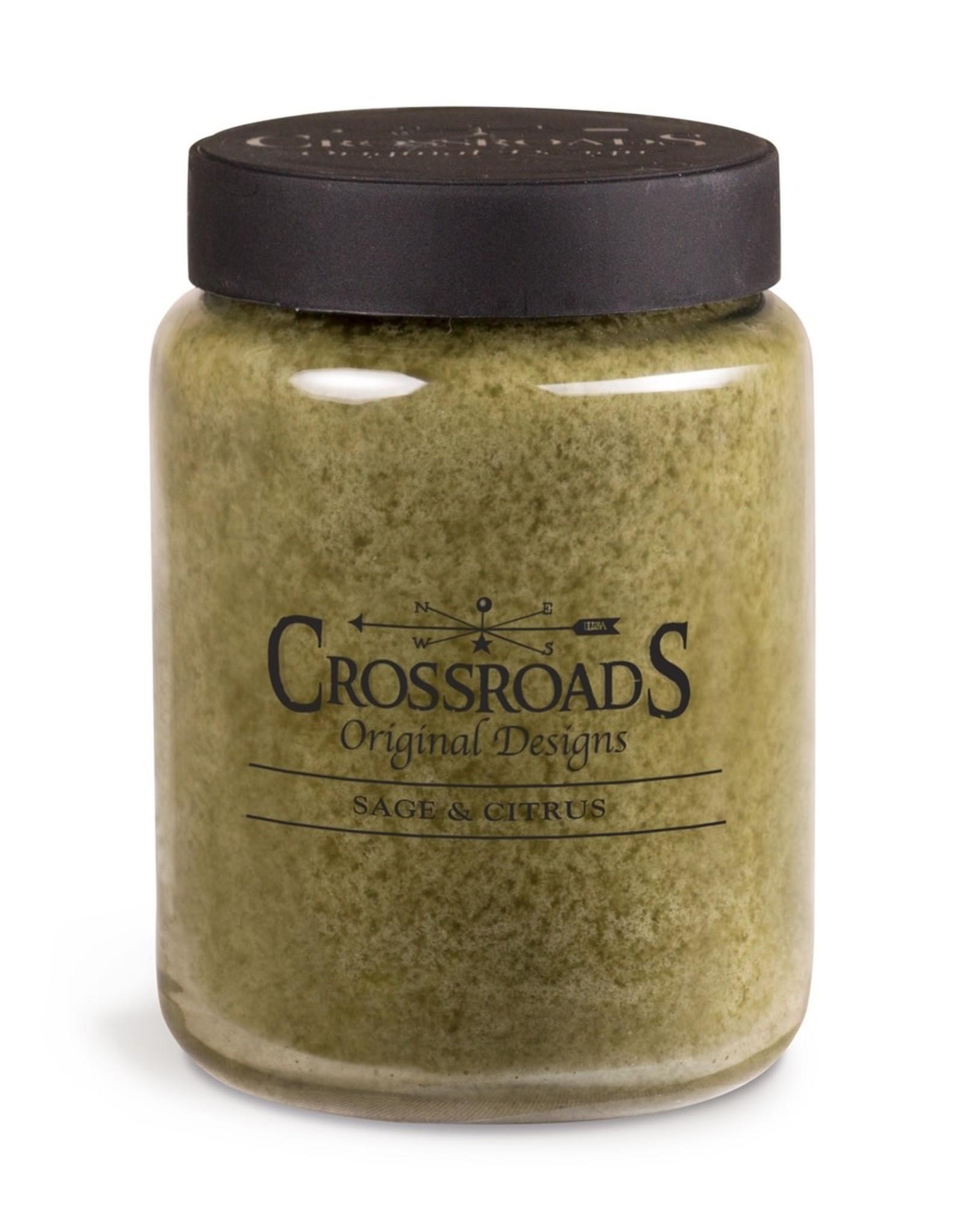Crossroads Sage & Citrus Candle