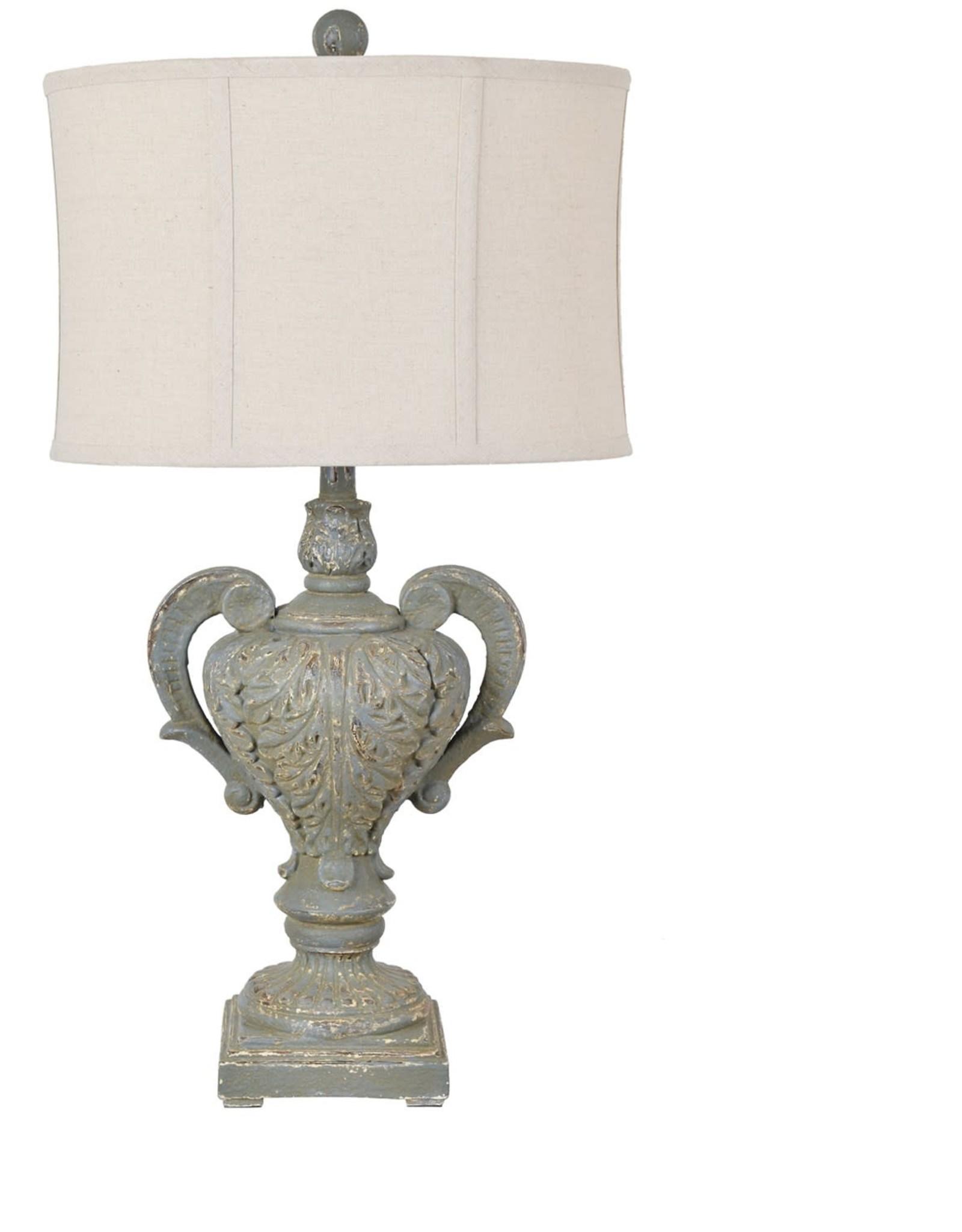 Crestview Calico Table Lamp