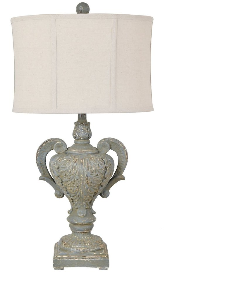 Crestview Calico Table Lamp