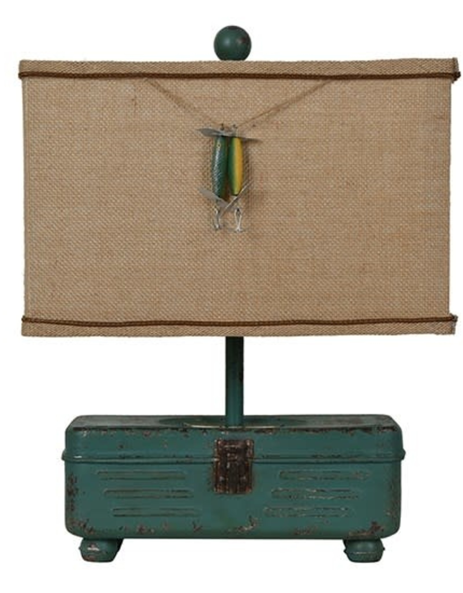 Crestview Tackle Box Table Lamp