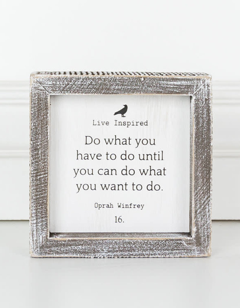 Adams & Co Live Inspired: Do what You have to do